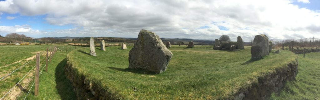 Easter Aquorthies Recumbant Stone Circle